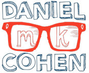 Daniel MK Cohen Actor, Voice Over Wears Glasses