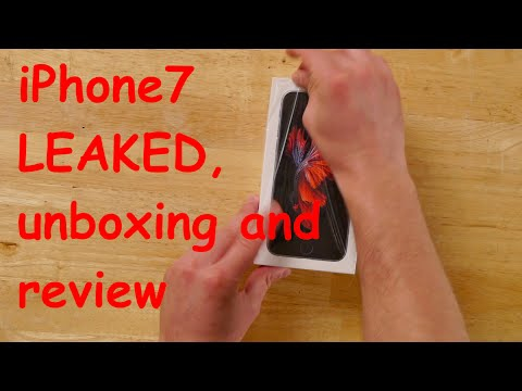 iPhone7 LEAKED, Unboxing and Review comedy sketch with Daniel MK Cohen